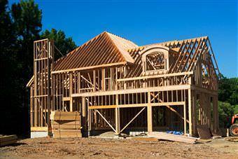 Una costruzione in legno