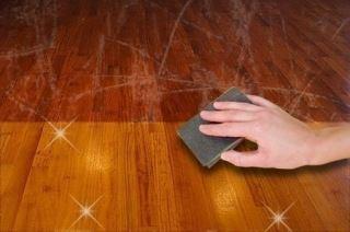 Pavimento in legno: pulizia