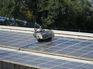Elpo: pacchetto servizi post-vendita - Particolar macchina Solarcleane braccio