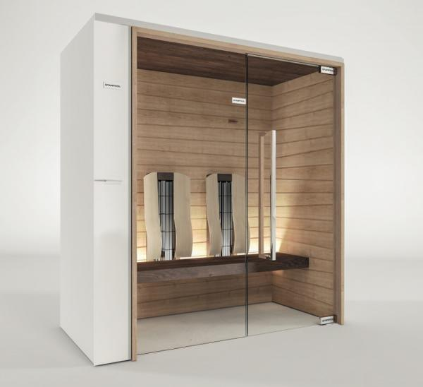 Sauna compatta: SweetSaunaSmart Infrared