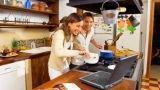 Apparecchiature funzionali e spazio cucina