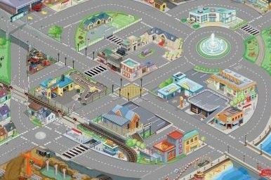 Tappeto da gioco, La mia città
