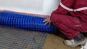 Reti per massetti in fibra di vetro