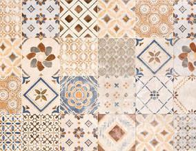 Piastrelle retr e personalizzate for Ceramica faetano