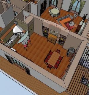 Il progetto di una moderna cucina