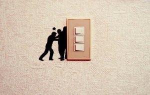 wall story, stickers per interruttori