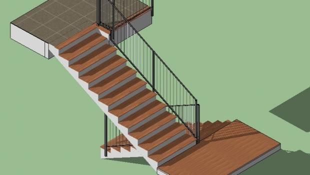 Rinnovare le scale con pedata usurata