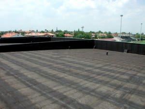Esempio di tetto piano tradizionale calpestabile