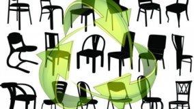 Sedie riciclabili e sostenibili