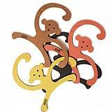 appendiabiti collezione Yellow Monkey Hanger di Our Children's Gorilla