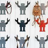 appendiabiti Albert the Robot Hook di Our children's Gorilla