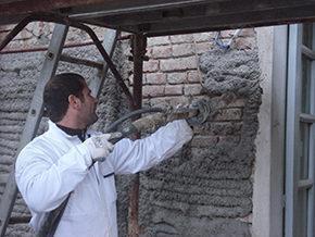 Applicazione Diathonite su Vecchia Muratura - Azienda Diasen