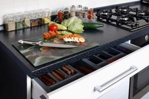 Cucina moderna: top unico