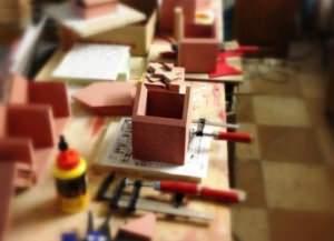 lavorazione casalinga legno