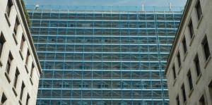 ponteggio facciata lineare