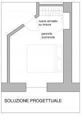 attrezzare la camera da letto - Ampio Armadio Allinterno Idee Progettuali