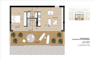 Appartamento tipo 1 della White Tower