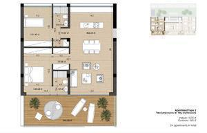 Appartamento tipo 2 della White Tower