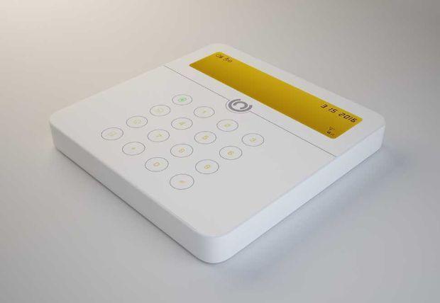 Antifurto casa modello di allarme wireless: centralina di Antifurto365