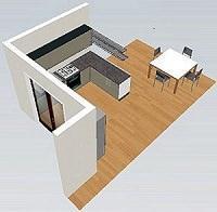 Progettare la cucina qualche idea da copiare - Composizione cucina ad angolo ...