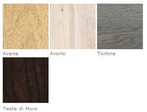 Listone Giordano: Slide, colori del Rovere