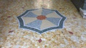 Recupero di pavimenti in marmo