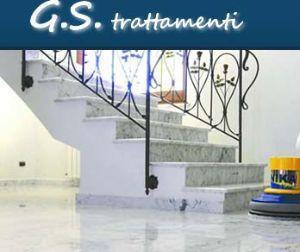 Trattamento del marmo eseguito da G S Trattamenti