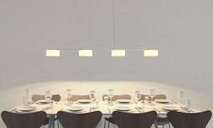 Lampada per la sala da pranzo - Lampade sopra tavolo da pranzo ...