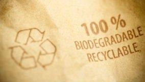 Plastica biodegradabile in casa