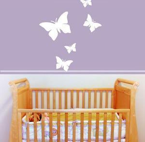 Wallstickersmania, adesivo farfalle