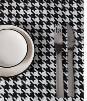 tablecloths.it, pied de poule