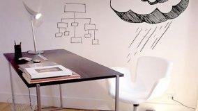 Scrivere e cancellare sulle pareti