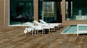 Pircher. Decking in pino silvestre europeo
