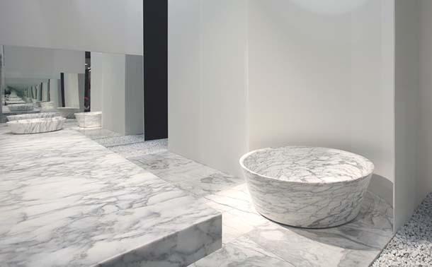 Vasche da bagno in marmo