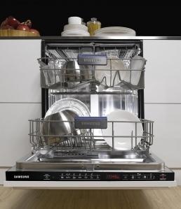 Il modello di lavastoviglie della Samsung