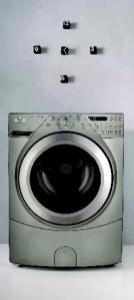 Il modello di lavatrice della Whirlpool