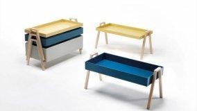 Tavolini impilabili per il soggiorno