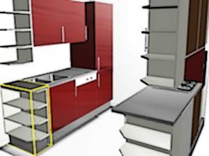 nuovi mobili componibili in cucina o restyling delle finiture