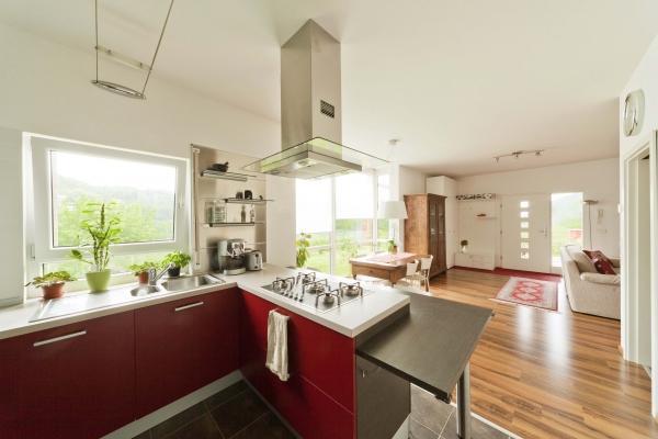 Casa Mia 85: casa prefabbricata in legno di Spazio Positivo, part. interno