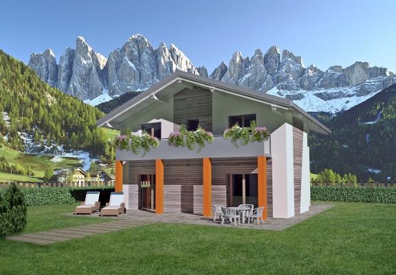 Lucé: mini case prefabbricate in legno by Spazio Positivo
