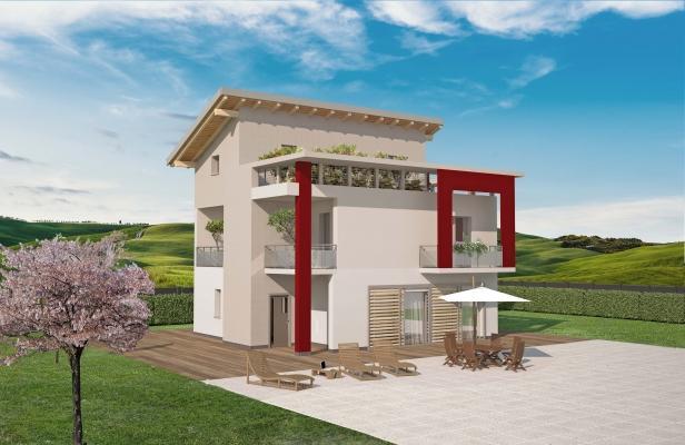 Mini case prefabbricare Spazio Positivo: casa modulare Modì