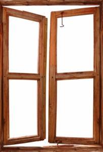 serramento in legno