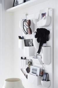 portaoggetti da parete. Black Bedroom Furniture Sets. Home Design Ideas