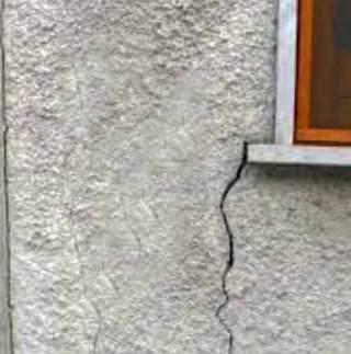 Danni da scuotimenti prodotti nella muratura