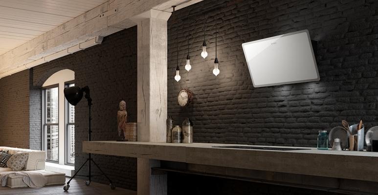 Cappa che sanifica l'aria modello a parete, Faber