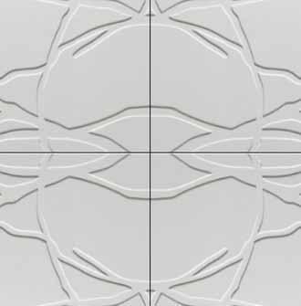 polistirolo per isolare e decorare unendo pannelli diversi