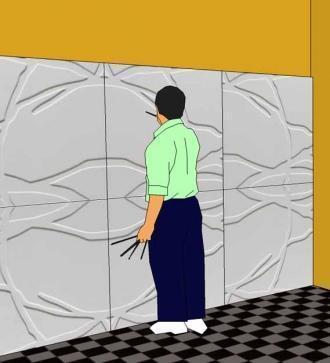 ... successivamente applicare su tale parete altro materiale idoneo