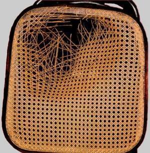 Sostituire la paglia di vienna - Tappezzare una sedia ...