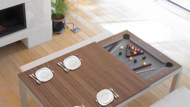 Tavolo Da Biliardo Polifunzionale