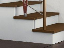 Rivestimenti per scale interne in muratura - Scale rivestite in legno per interni ...